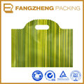Biodegradable custom printing plastic die cut handle bag /shopping bag