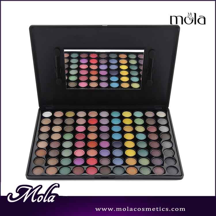 China professional manufacturer 88 color make up cosmetics palette mixed color eyeshadow palette
