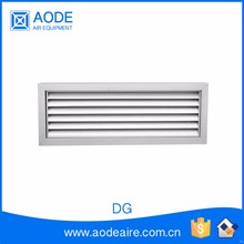 Return air ventilation grilles for doors