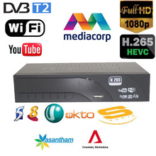 2018 newest Singapore Mediacorp DVB-T2 Terrestrial digital television receiver supports H.265/HEVC Youtube