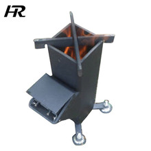 Energy-saving Outdoor Camping Rocket Pellet Stove