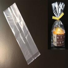 Clear Side Gusset Food Packaging Bag and Heat Seal Plastic Bag for Bread
