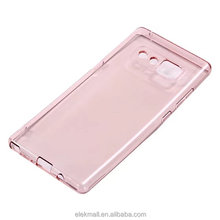 Hot sale new products factory price transparent clear candy tpu case for samsung galaxy note 8 case tpu