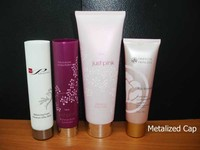 PE printed tube for skin care products