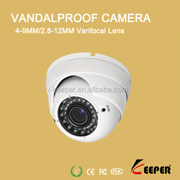 700TVL Sony CCD Surveillance IR Indoor Outdoor Vandalproof dome security camera