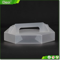 Wholesale Custom Container For Cake Clear Plastic Cupcake Boxes