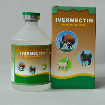 Antibiotics veterinary medicine ivermectin 1% injection