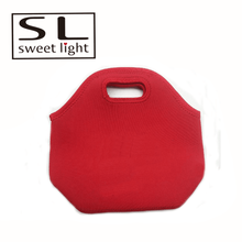 New Style Popular neoprene red insulated lunch cooler bag zero degrees inner cool