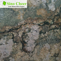 Natural stone rainforest green marble slab with great price