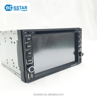 universal 2din 6.5inch touch screen car dvd gps mp4 player fm radio receiver with bluetooth combination usb reversing camera