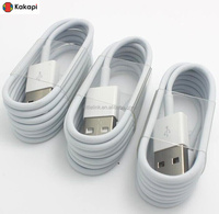 High Quality Color MFi authorized USB Sync charging cable Made for Iphone 5 5s 5C 6 6plus
