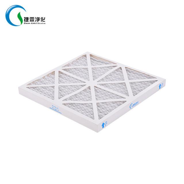 CLEAN LINK paper frame synthetic fiber foldaway panel pre filter