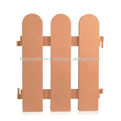 Felton Plastic Garden Fencing Partition Decoration
