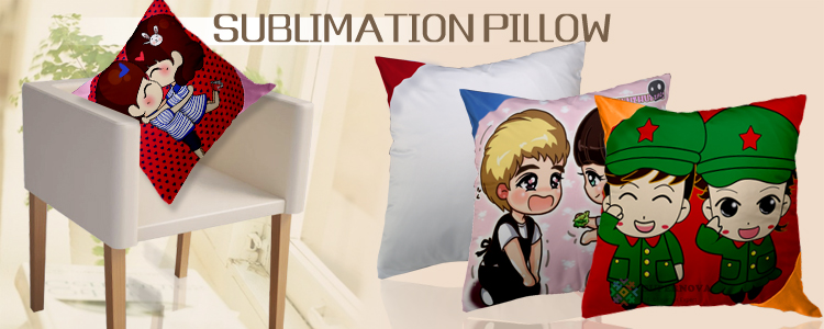 China Factory Manufactures Sublimation Pillow, Blank Sublimation Pillow, Decorative Pillow For Sublimation