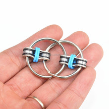2017 new gadgets cool design bike chain key ring fidget hand spinner toys for relieve anxiety&stress&ADD