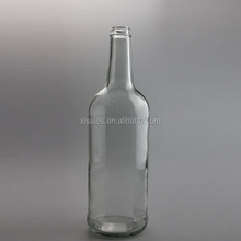 750ML ROUND TEQUILA BOTTLE CRYSTAL GIANT GLASS BOTTLE