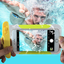 Custom IPX8 6.0 inch Waterproof Cell Mobile Phone Case for iPhone Samsung