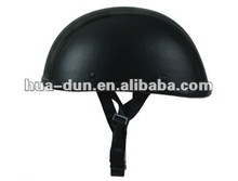 High quality helmet for export sales leather material half face helmet