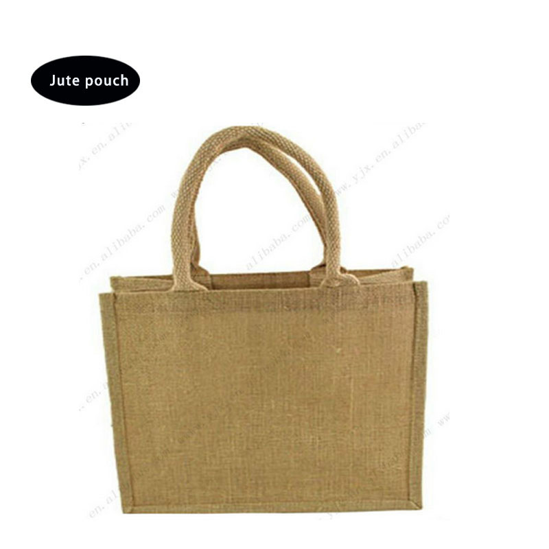 wholesale cheap burlap fabric wine bottle jute bag