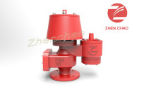 Zhenchao Atmospheric pressure vacuum relief valve with flame arrestor