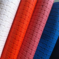 wholesale pu faux leather fabric for shoe/bag material