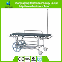 BT-TR016 hospital patient stainless steel funeral mortuary stretcher