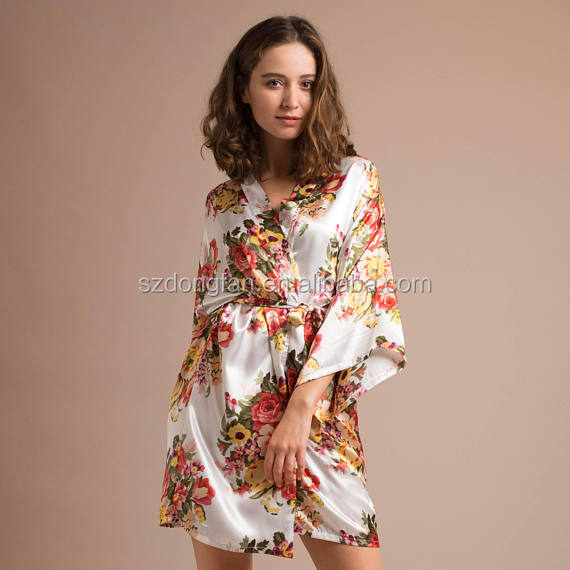 List Manufacturers of Bridal Party Dressing Gowns, Buy Bridal Party ...
