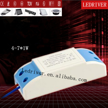 For Led Driver Ic High Power Waterproof Constant Current TUV Listed 630MA 7W Led Driver Power Supply