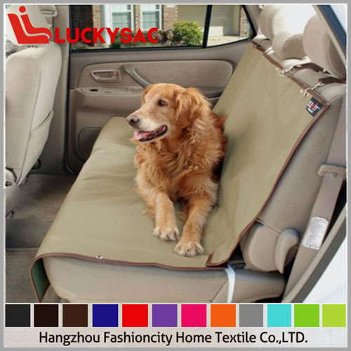 High quality Pet seat cover hammock pet car booster seat