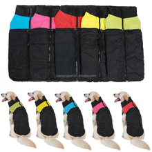 Hot Selling Winter Clothes 5 Colors Extra Large Pet Dog Clothing with zipper