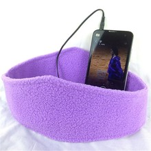 New Product Uneed Sleep Mask Sports Headphone Headband Headband For MP3