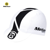 Monton white cap road bicycle caps apparel biking