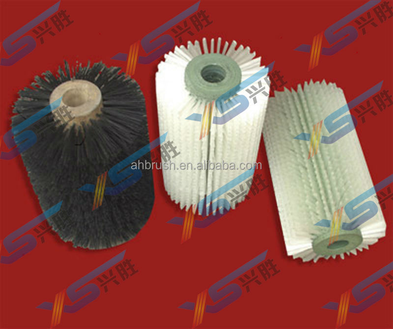 cylinder brush for cleaning/glass cleaning brush roller