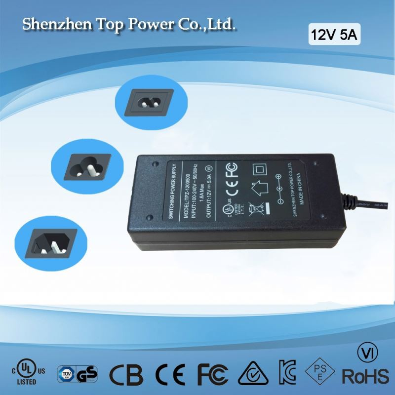 60W 30V 2A Ahead AC Adaptor IP67 Moistureproof Switching Power Supply