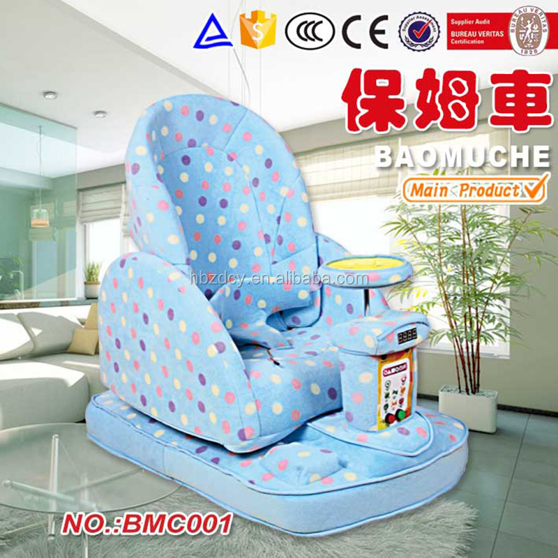 electric baby swing stroller with alarm , speed baby toy cars 2016 new baby products