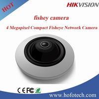 Hikvision IP Camera 4 Megapixel WDR Fish eye Network Camera power line network security camera