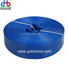 colorful PVC lay flat irrigation hose from china supplier