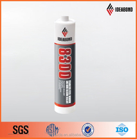 China Supplier IDEABOND Stainless Steel Windows and Doors Silicone Sealant