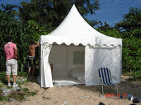 Heat resistant used small party tents for sale for South Africa