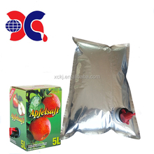 big bag in box 3L aseptic juice bag and 5L beverage bag with valve