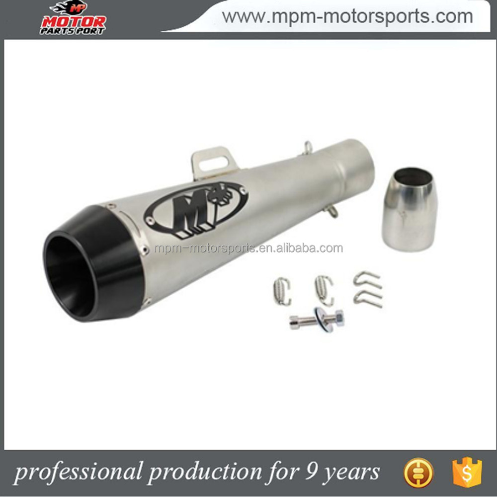 Motorcycle modification Parts accessories M4 exhaust muffler for Yamaha TMX 500 TMX 530