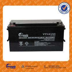wholesale price Asia Indonesia Pakistan maintenance free vrla gel battery 12v150ah for ups