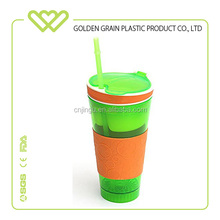 Promotional gadget 500ml Travel Portable Drinking Snack Cup Snackeez cups