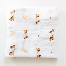 Wholesale Organic Cotton Bamboo Swaddle Unbleached Muslin Fabric