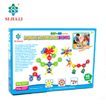 Wholesale high quality DIY 3D assemble EVA digital snowflake game toys