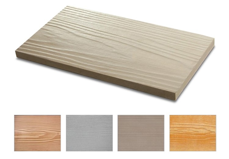 Hot Sale Wood Fiber Cement Siding for Exterior Wall Decoration