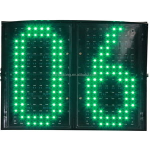 2018 huakong brand red green LED traffic Countdown Timer