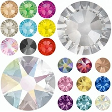 SS3-SS40 Non Hot Fix flatback crystal stone /flatback rhinestones for nail art