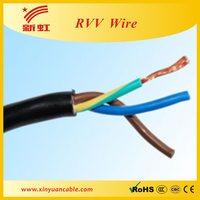 PVC insulated electric connection wire