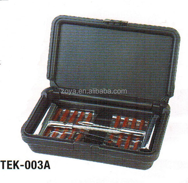 Emergency Tire Plug Auto Tyre Repair Kit Set For Car